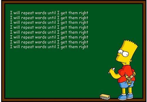 تکرار کردن، با وجود اینکه روشی مرسوم در یادگیری لغات انگلیسی است، در بلندمدت بازدهی مناسب را ندارد.