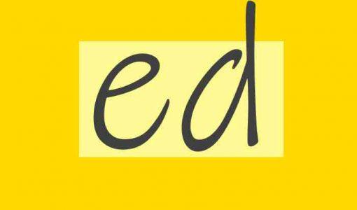 نحوه تلفظ ed در انتهای کلمات